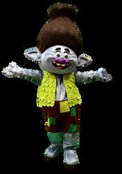 Mascote Partyval Trolls 2