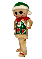 Mascote Partyval Bolacha Ginger Bread 2.