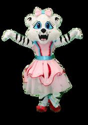 Mascote Partyval Tigre Bailarina 1.png