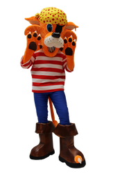 Mascote Partyval Tigre Pirata Sheraton 1