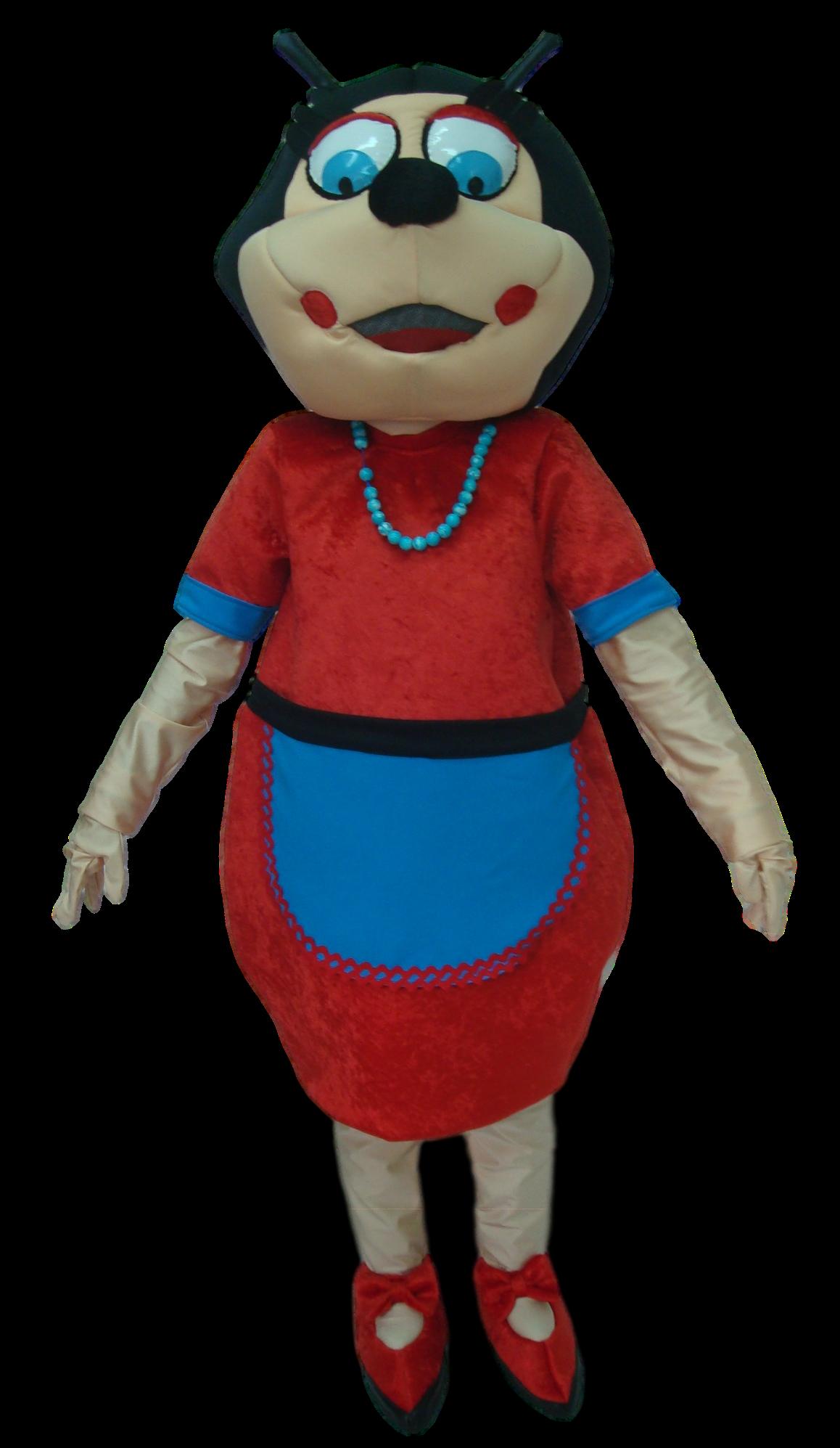 Mascote Partyval Carochinha