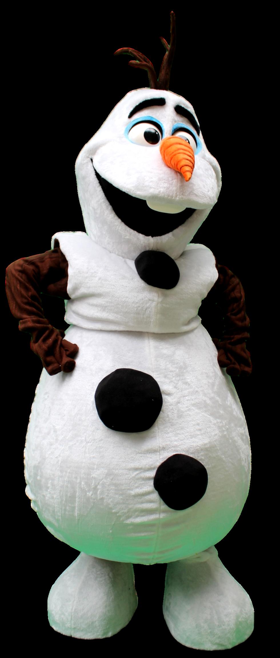 mascote Olaf 1