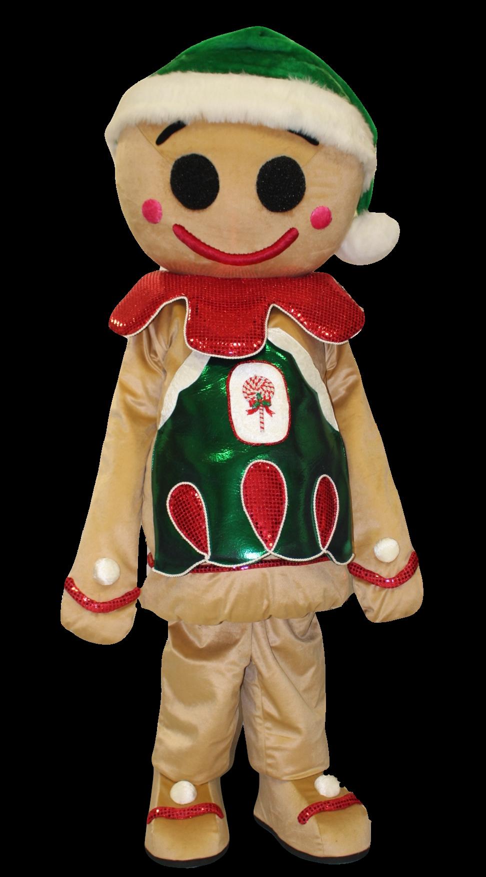 Mascote Partyval Natal Bolacha III