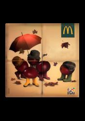 Mascote Partyval Puzzle Mc Donald's 7