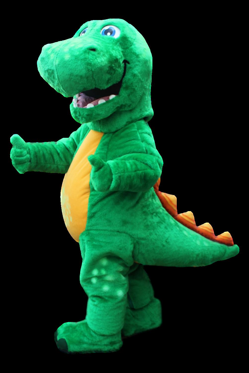 Mascote Partyval Dinossauro Aventura
