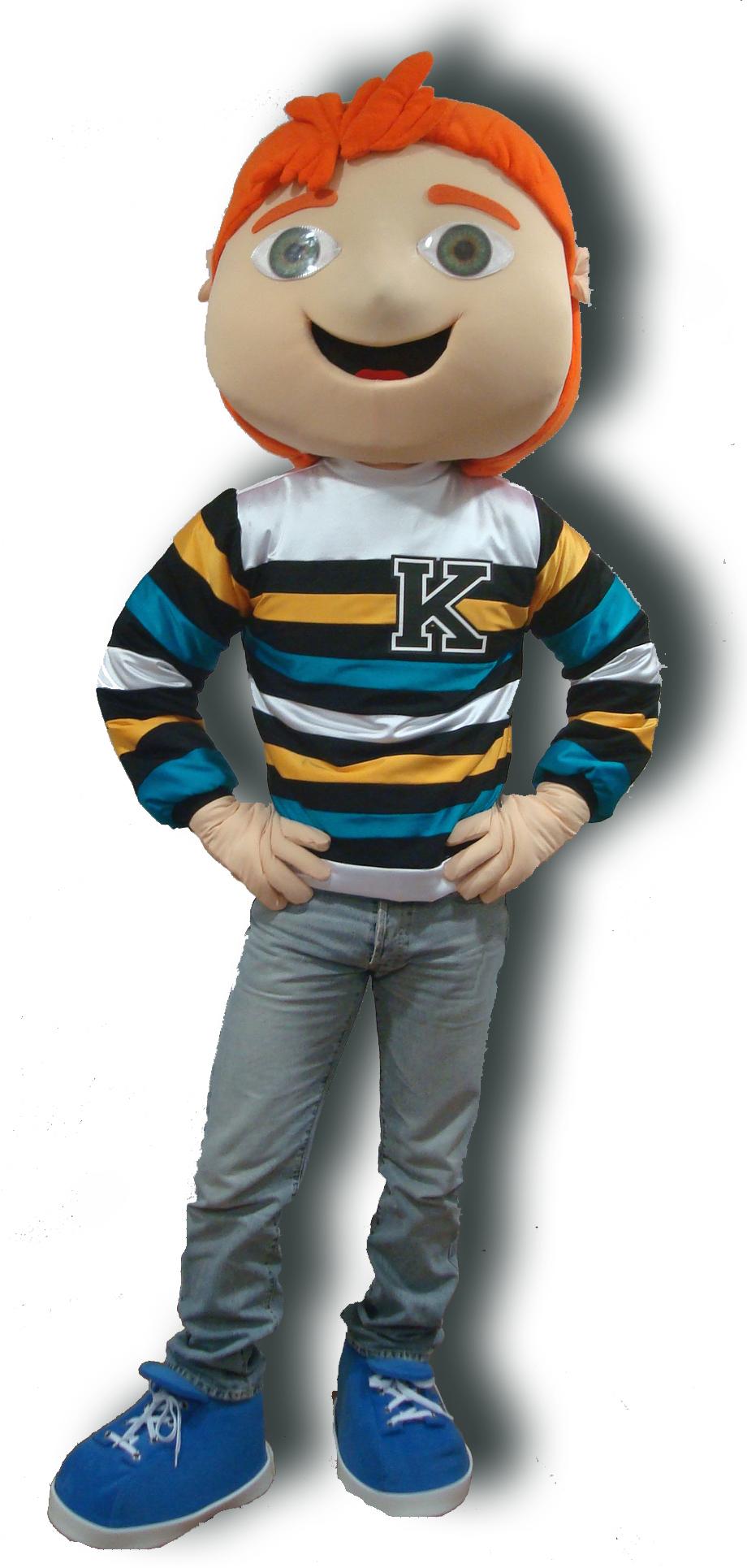 Mascote Partyval keppy
