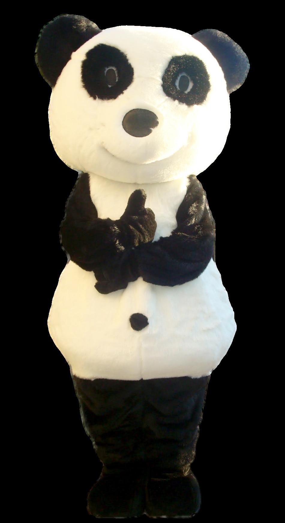 Mascote Partyval panda 2