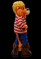Mascote Partyval Tigre Pirata Sheraton 2