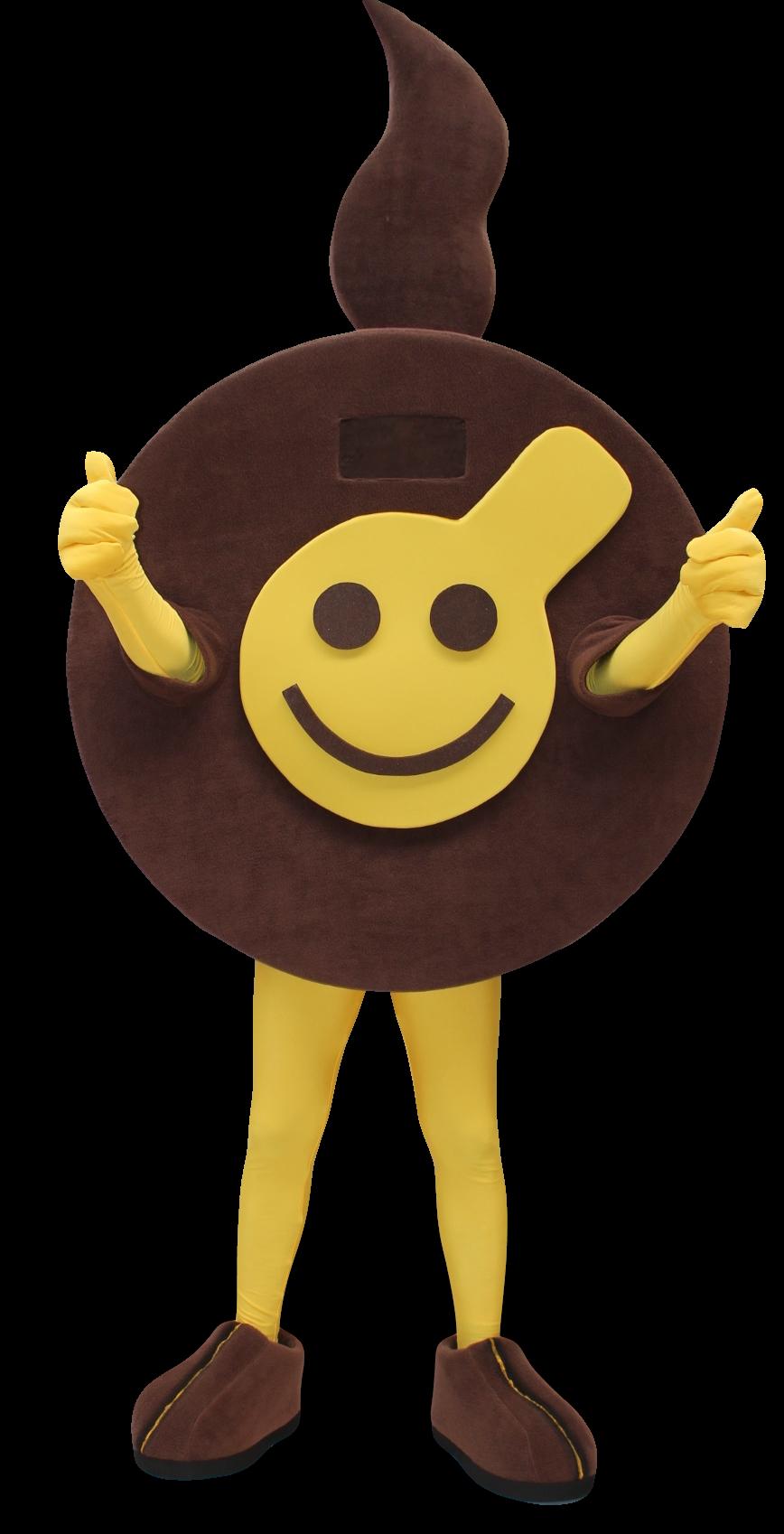 Mascote Partyval Meltino a