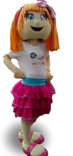 Mascote Menina