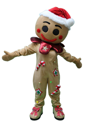 Mascote Partyval Bolacha Gengibre Natal