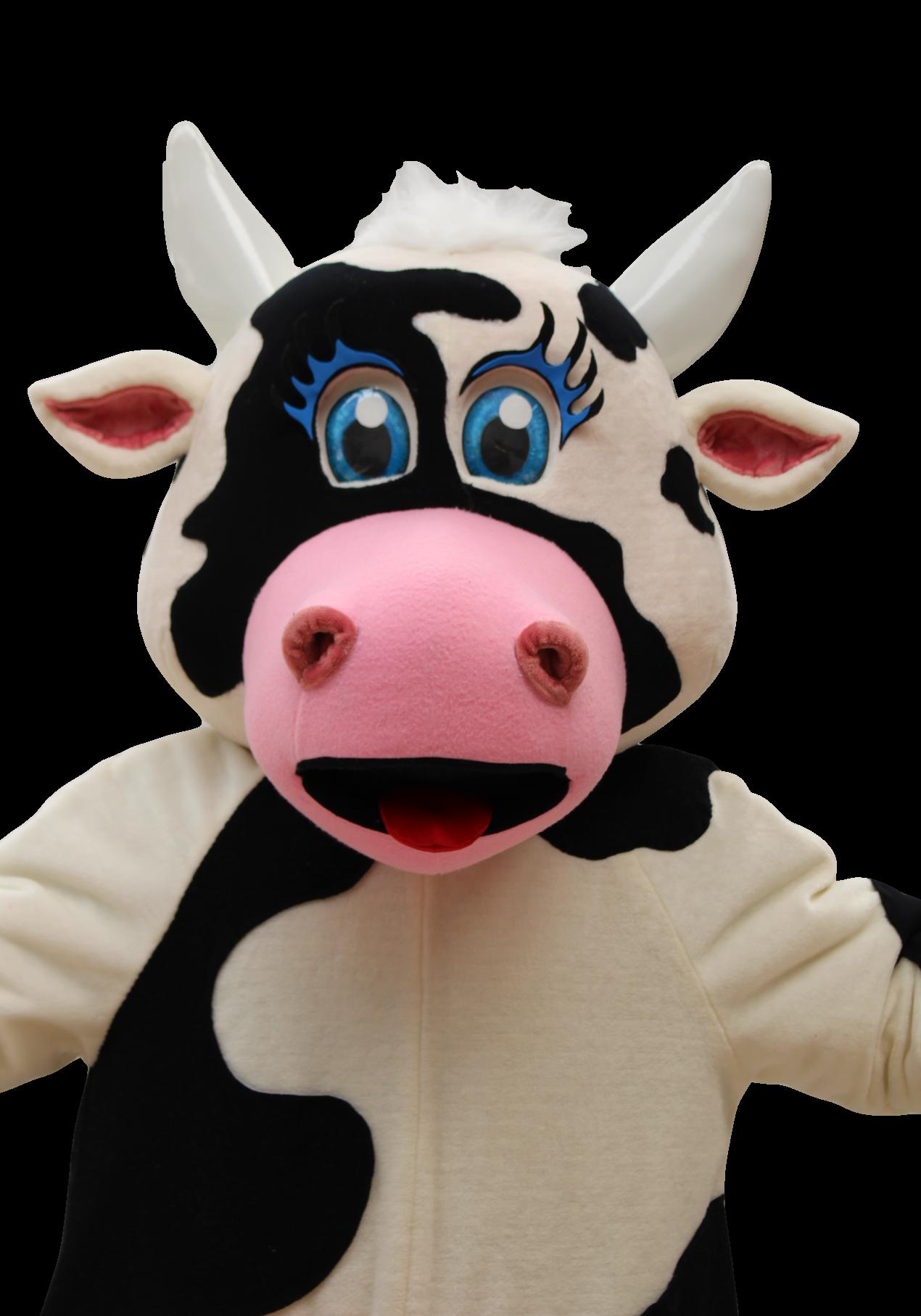 Mascote Partyval Vaca Agros c