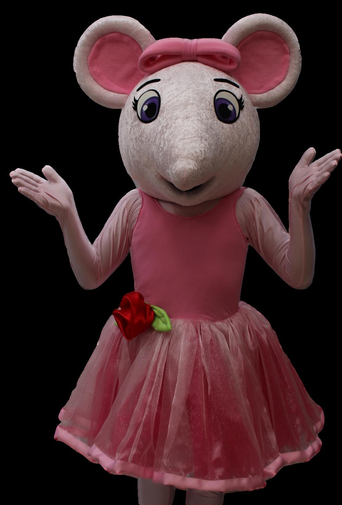 Mascote Ratinha Bailarina