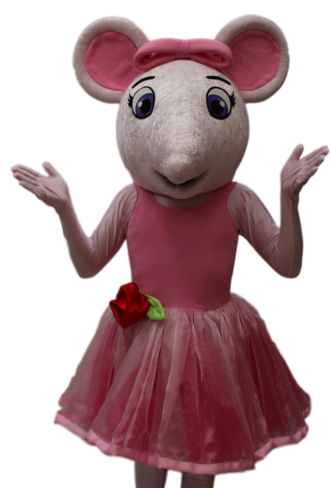 Mascote Ratinha Angelina Ballerina 2