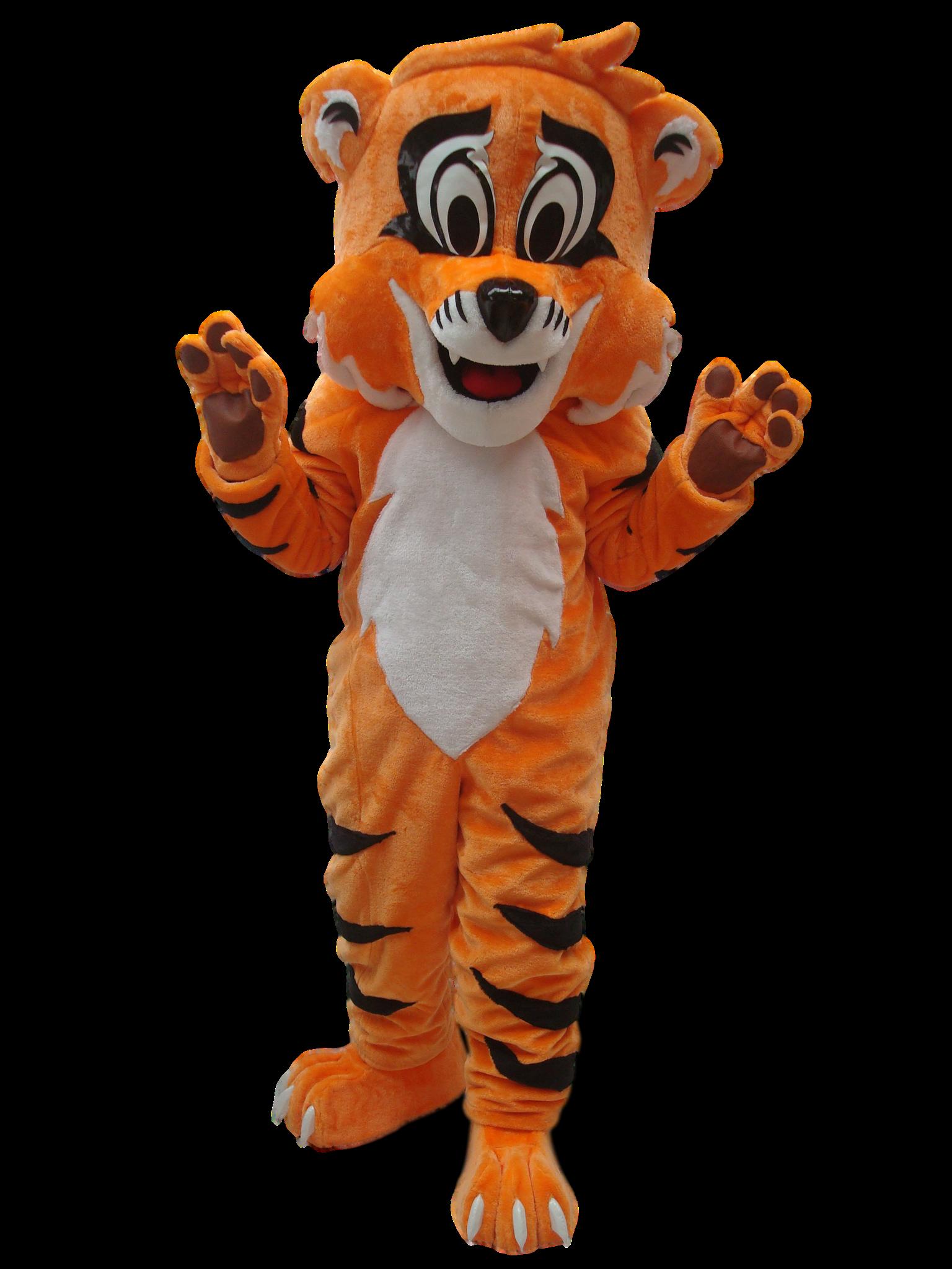 Mascote Partyval Tigre