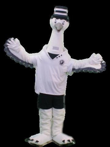 Mascote Partyval cegonha Mister