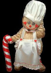 Mascote Partyval Bolacha Gengibre Cozinheira 1
