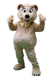 Mascote Partyval Urso Beje 1.png
