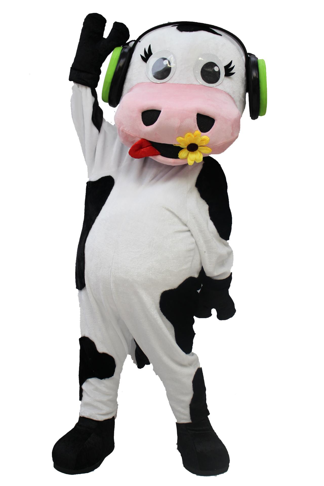 Mascote Partyval Vaca espetaculos