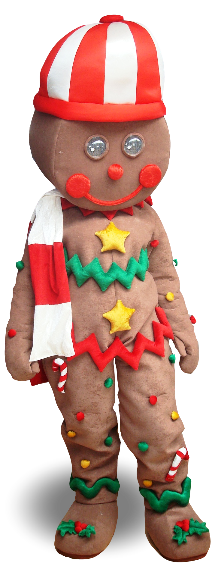 Mascote Partyval Natal Bolacha I
