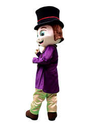 Mascote Partyval Fábrica do Chocolate 3.