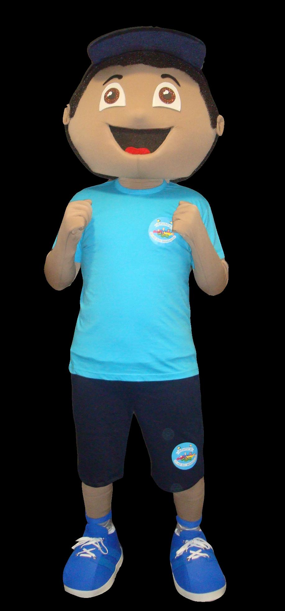 Mascote Partyval Menino Cid