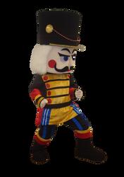 Mascote Partyval Soldado Quebra Nozes 1.