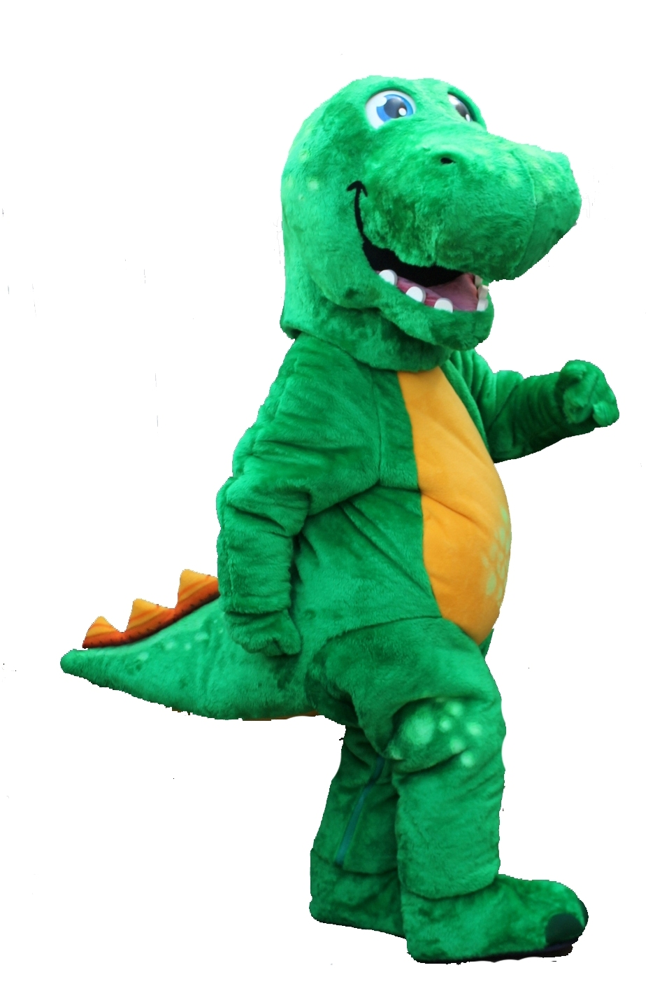 Mascote Partyval dinossauro adventures