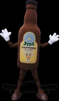 mascote garrafa