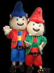 Mascote Partyval Natal Duendes