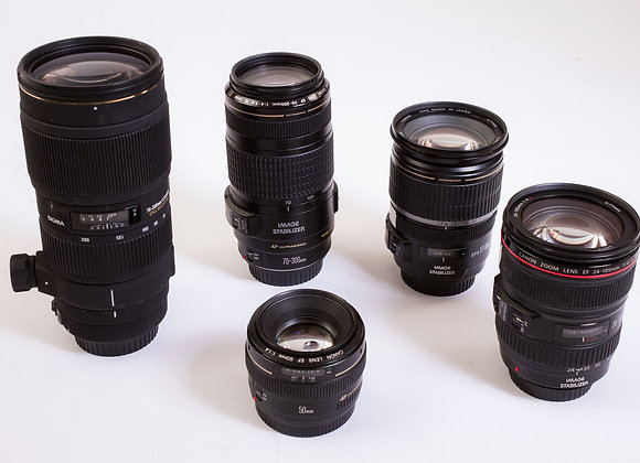 lenses (ask for more info)