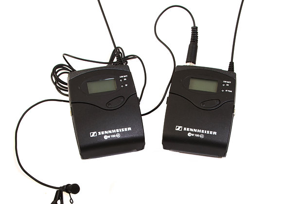 sennheiser G3 wireless mic kit