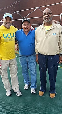 Keith Parker (far left)