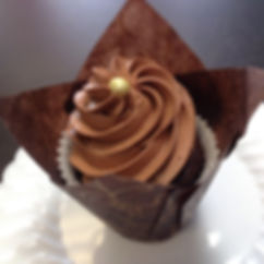 Triple Chocolate cupcake _#bsweetconfect