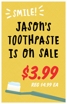 Jason's Toothpaste