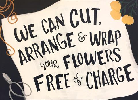 Floral Chalk
