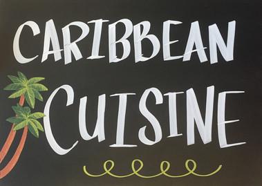Caribbean Cuisine Chalk