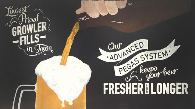 Custom Beer Mural