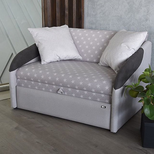 Klюkva диван SMART (Liverpool star серый)