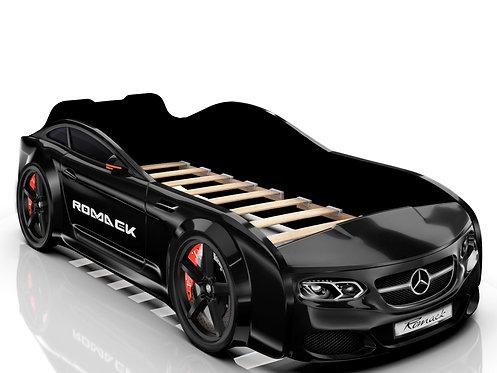 Romack кровать-машина Real Мерседес (цвет черный)