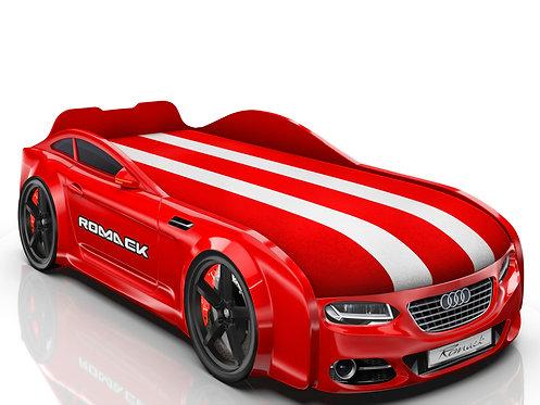 Romack кровать-машина Real-М Ауди (цвет красный)