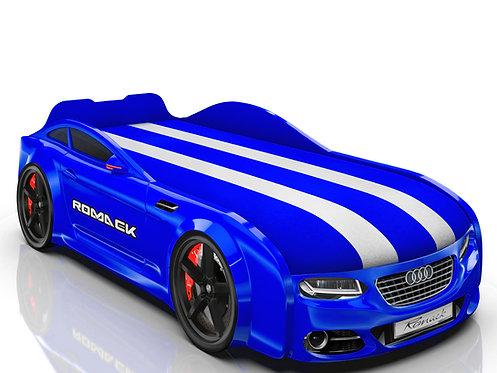 Romack кровать-машина Real-М Ауди (цвет синий)