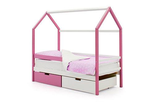 """Детская кровать-домик Бельмарко """"Svogen лаванда-белый"""" (00684)"""