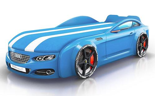 Romack кровать-машина Real-М Ауди (цвет голубой)