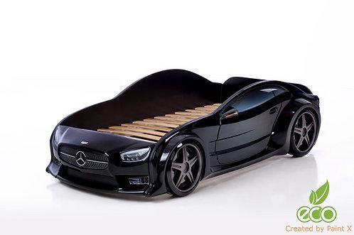 Кровать-машина Мерседес EVO МебеЛев (цвет Черный)