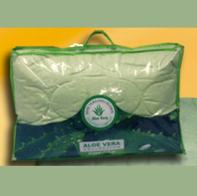 "Goldtex одеяло ""Aloe Vera лебяжий пух/сатин"" 140х205 см. арт.1090"