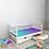 Thumbnail: Детская кровать Ницца (кровать-домик без крыши) БЕЗ БОРТИКА Цвет: БЕЛЫЙ