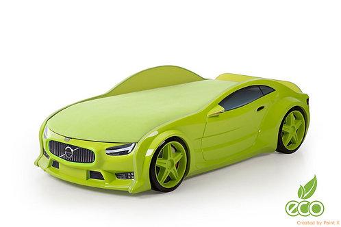 Кровать-машина ВОЛЬВО серия NEO (цвет Зеленый)