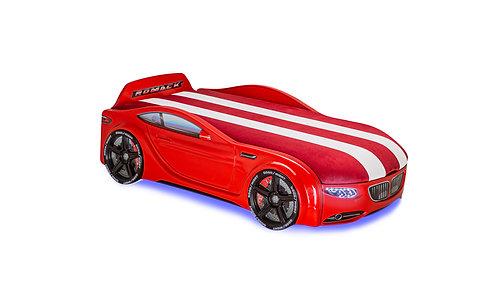 Кровать-машина Romack Junior БМВ (красный)