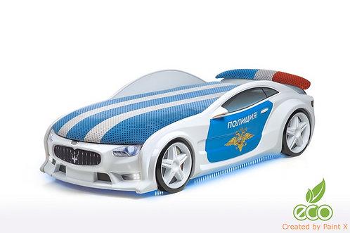 Кровать-машина МАЗЕРАТИ серия NEO (цвет Полиция)